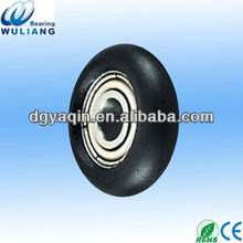 695 good quality aluminum sliding window,suspension wheels