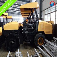Hot!! 3ton tire road roller ride-on vibratory roller