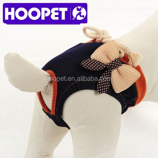 Denim sanitary pants sexy dog clothes