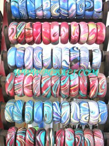 Wooden Airbrush Bangle wholesale free shipping