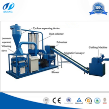 Doing brand high efficiency aluminum medicine plate separator/drug blister pack recycling machine