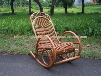 Pale-brown Color Relax Chair,Fresh Rocking Rattan Full Chair,Resort Or ...