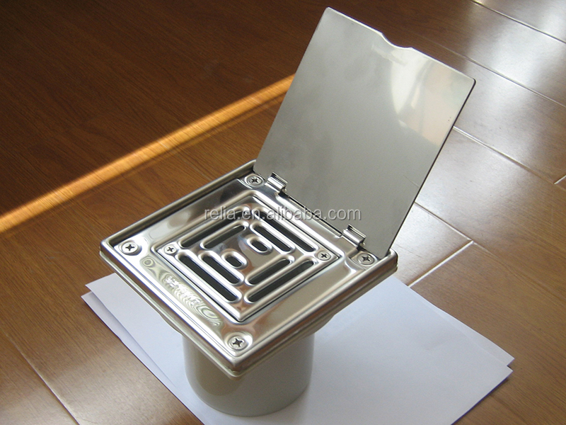 SS304 Stainless Steel Bathroom Floor Drain RLSF005S