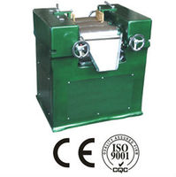 Three roll mill for acidic silicone glass sealant