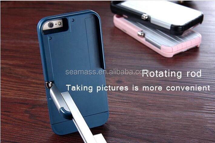 High Quality Mobile Phone PC Aluminum Selfie Stick Case For iPhone 6/6 Plus