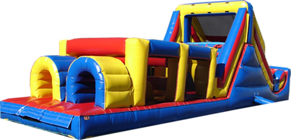 Backyard obstacle challenge Inflatable obstacle course in cheap price  children obstacle course