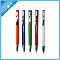 Hot sell Colorful Plastic ball pen for promotional