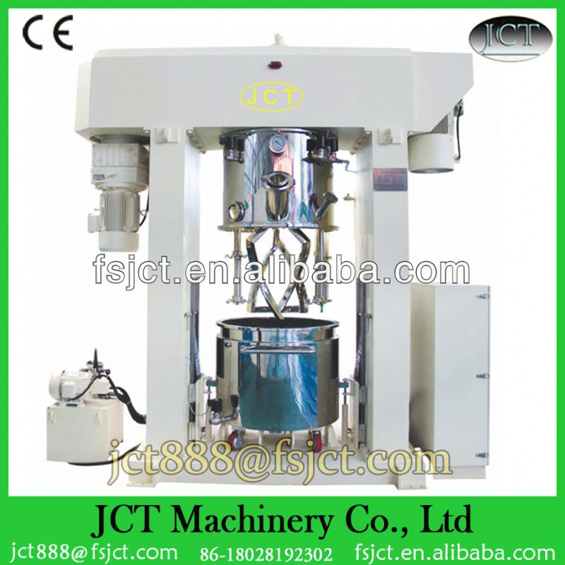 Machine for making silicone