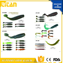 Soft Plastic Wholesale salmon fishing lures