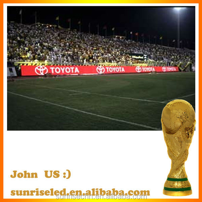 USA/EU WC high standard led stadium display/P10P16P20sport led screen/full color led football wall
