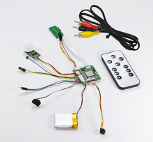 720P HD CMOS mini pcb board hidden camera module hd08