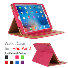 Luxury Flip Shockpro Smart Leather Rotatable Case For Ipad 2 ,For Ipad Air Case Leather Cover