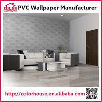 new design texture interior decorative vinyl wallpaper wholesaler