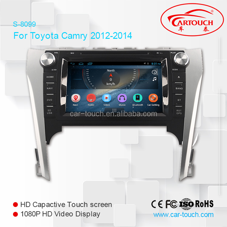 for Toyota Camry 2012- 2014 27 Multi-Touch Screen Car DVD GPS Navigation Android DVD Player