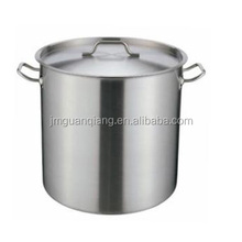 6L compound bottom higt body large stock pot cooking pot