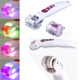4 Colors Photon Led Light Therapy Derma Roller Galvanic Vibrating Roller Microneedle Derma Roller Kit Factory Direct Wholesale