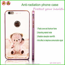 Clear plastic phone case printing mobile phone cover bear pattern