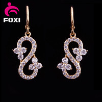 18k 14k gold plated wholesale fancy small gold earrings woman 2016 /ladies earrings designs pictures designs for party girls