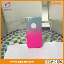Wholesale waterproof and gradually changing color PC material color changing cell phone case for iphone 6 plus