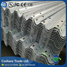 Coshare Stable Quality Quiet Durable aashto m180 galvanized highway guardrail
