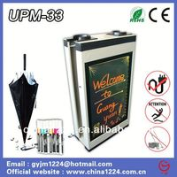 2014 new product wet umbrella wrapping machine construction wood wrapping machine