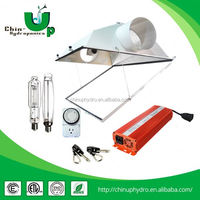 Hydroponics Kit/Growing Kit with Hydroponics Reflector,Lamp,Ballast,Timer,Hanger led greenhouse light 120w