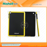 TPU double color design tablet protective case for ipad mini