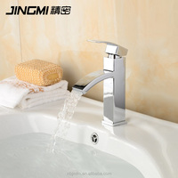 JM013 Single Lever Cold And Hot Water Brass bathroom wash basin mixer Faucet