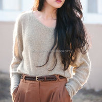 pretty warm winter casual wool sweaters for lady