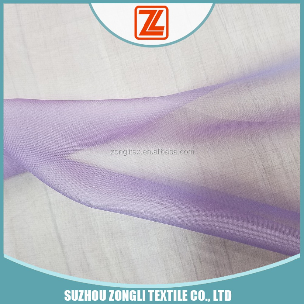 30D polyester two tone chiffon fabric