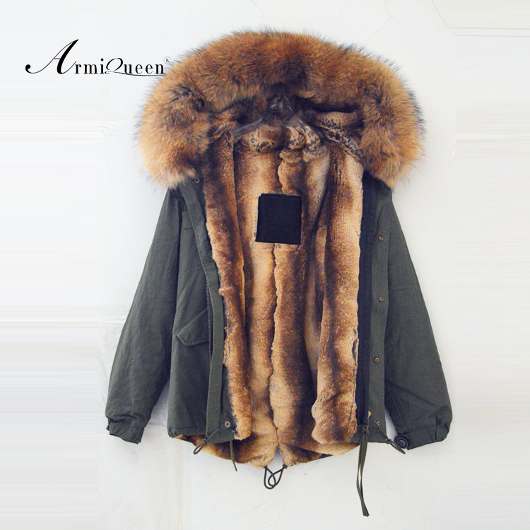 Wholesale The Wholesale winter Women raccoon fur lining short