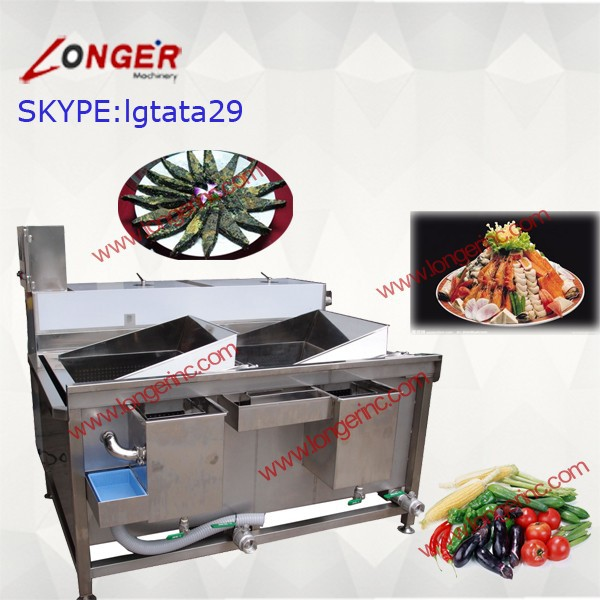 Two Tank Vegetable and Fruit Washer