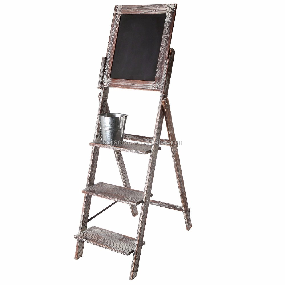 Wooden decorative blackboard with stand,Cheap wooden toy black board,High Quality Promotion Black