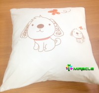 Sublimation pillow case, heat transfer pillow,blank pillow for sublimation
