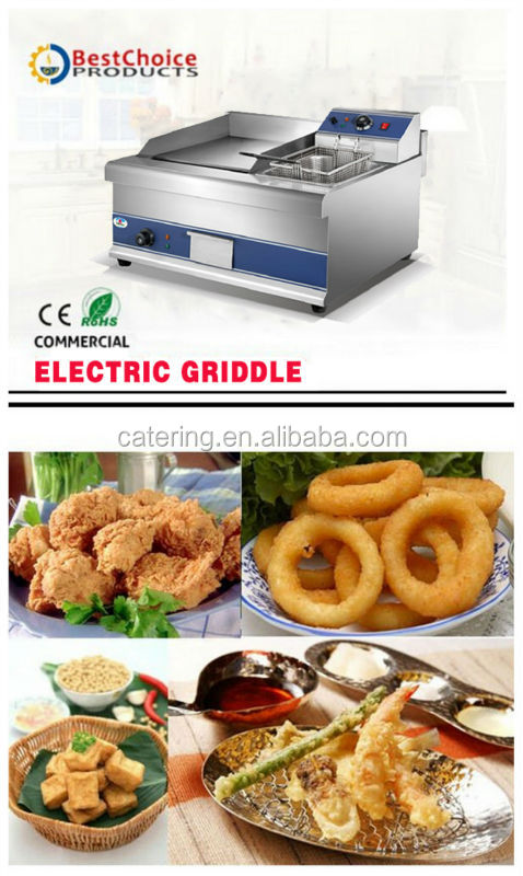 HEG-908 2016 commercial griddle kitchen equipment for restaurant