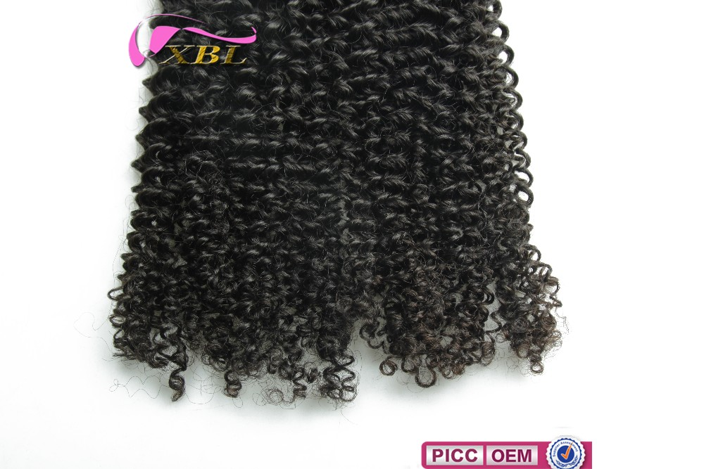 Hot selling bundle Malaysian remy hair , hot curly hair