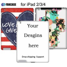 3D sublimation case for ipad 2/3/4 sublimation case for apple ipad 2/3/4 custom printable case for ipad 2/3/4