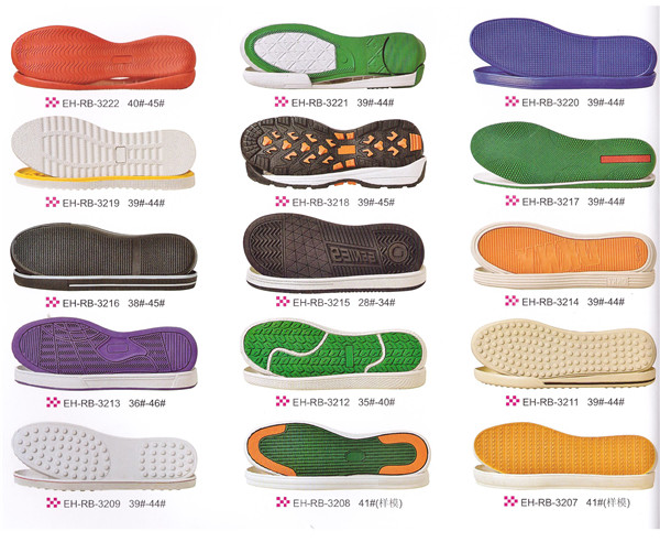 Men rubber shoe sole sports outsole shoe material running sole