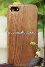 Mobile phone accessories High Quality Bulk Real wood phone case for iphone 5 5s