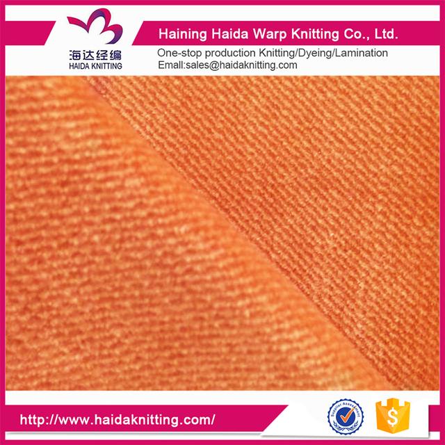 Home Textile Velvet Fabric Wholesale
