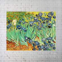 100% handmade high quality Impressional masterpieces reproduced floral Oil painting