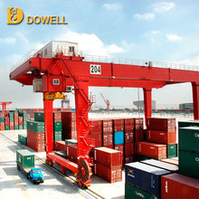 CE Pass 65on Container Stacking Rail Traveling Gantry Cranes For Sale Use