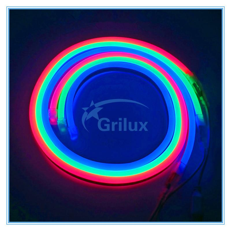 Cuttable lights flex rgb led neon flex led neon light ultra thin led 2 wires small rope light competitive price