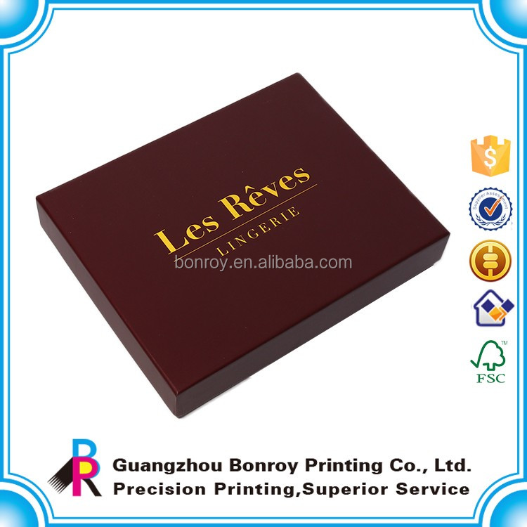 China supplier new design lid and base boxes packing wholesale