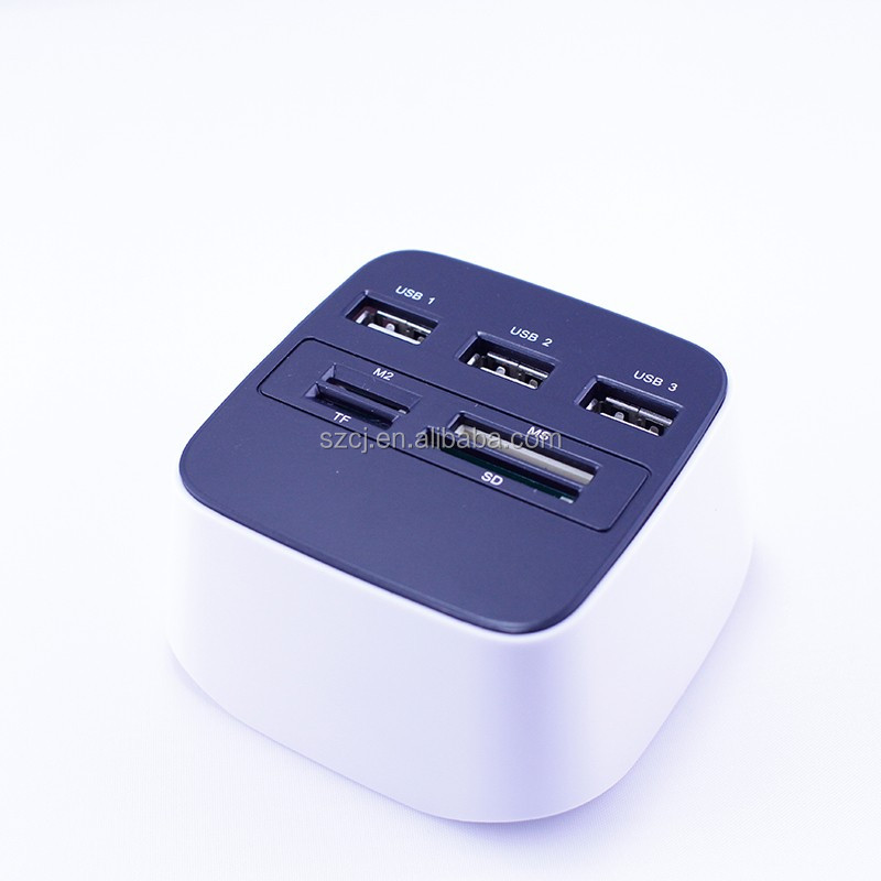 LED Light / Build-in LED Memory Card Reader/ Mini USB Card Reader