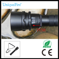 High power strong light waterproof led focus diving torch