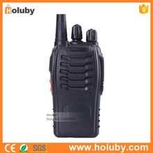 DC3.7V UHF 1500mAh Transceiver, Long Range Outdoor Radios Walkie Talkie with Headset