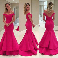 2016 New Design Turquoise Puffy Skirt Wedding Dress For Women Ladies long evening dress fish cut