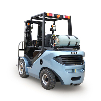 China supplier Royal gasoline/LPG dual fuel forklift truck 3.0ton with Nissan K25 engine hydraulic transmission