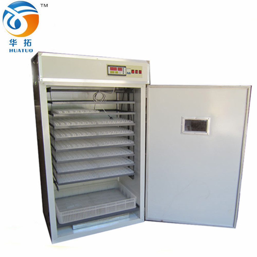 Best Selling Automatic Chicken Egg Incubator industrial for 1408 Chick Eggs HT-1408 with CE proved